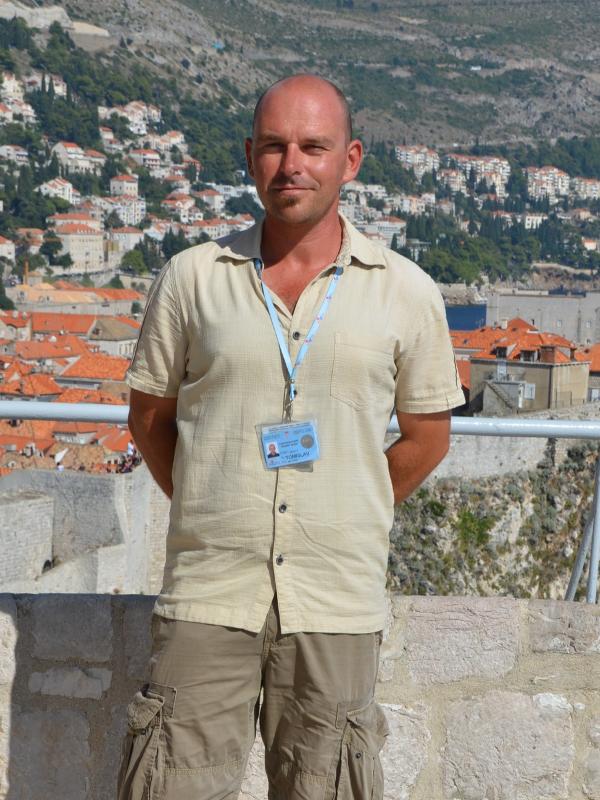 Tour guide Tom