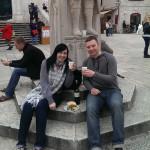 Wine & Oyster break!