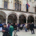 Oyster fest in Dubrovnik