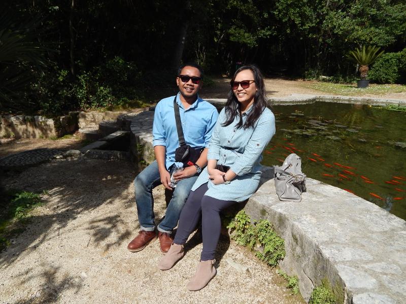 Marli Tyrell Garden pond