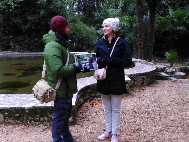 Trsteno Arboretum GOT tour